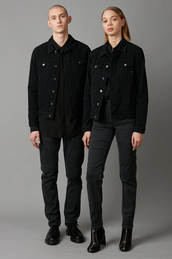 CARBON OSLO UNISEX DENIM JACKET - Nique Clothing