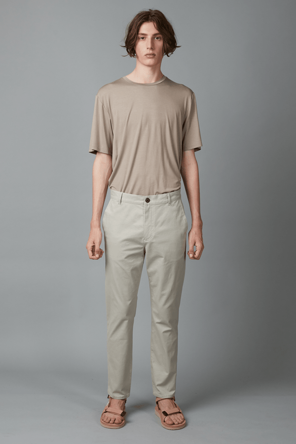 CEMENT MIEKO STRETCH COTTON PANT - Nique Clothing