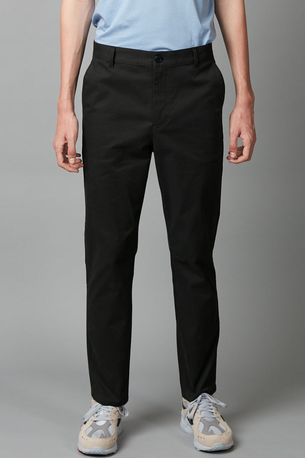 BLACK UNISEX MIEKO COTTON PANT