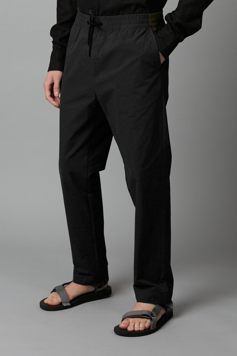BLACK OKABE PANT - Nique Clothing