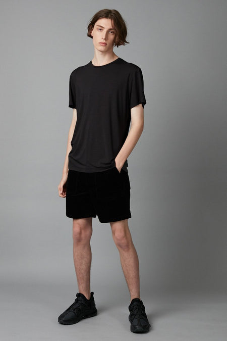 BLACK WOLFGANG BAMBOO COTTON TEE