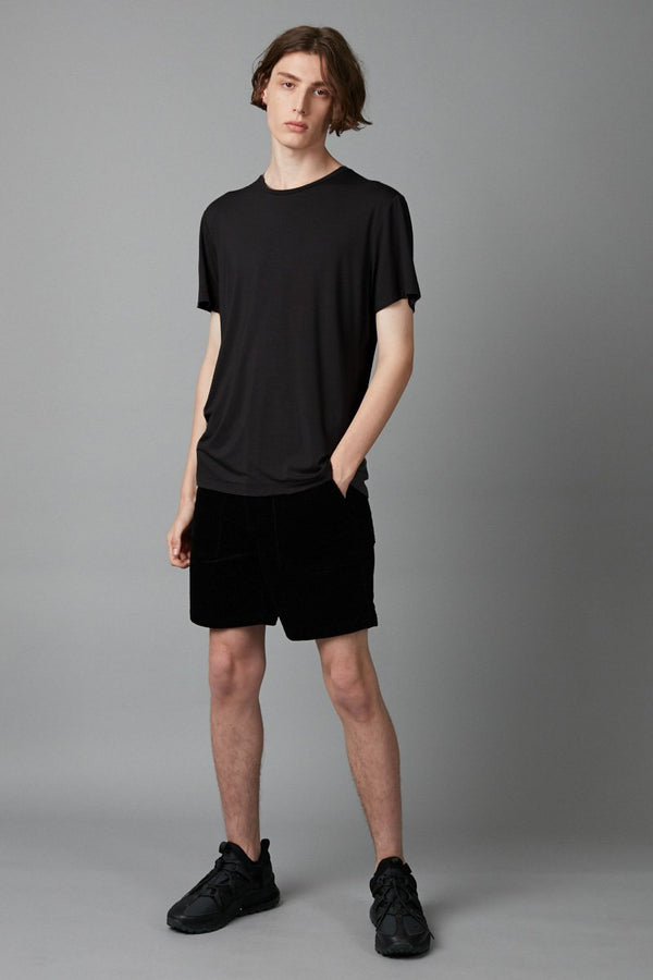 BLACK TAIT BAMBOO COTTON TEE