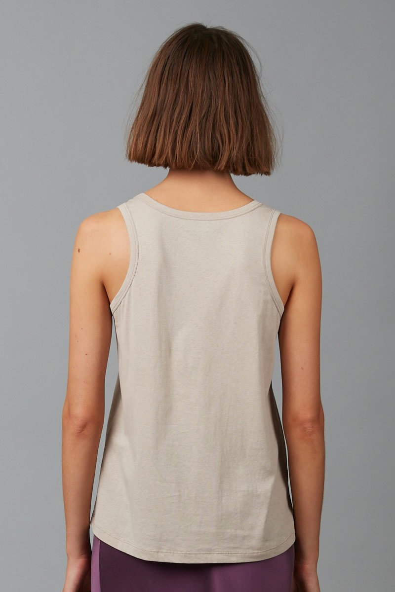 CEMENT KAZOKO COTTON TANK - Nique Clothing