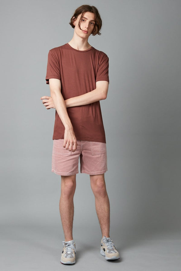 RUST TAIT BAMBOO COTTON T-SHIRT - Nique Clothing