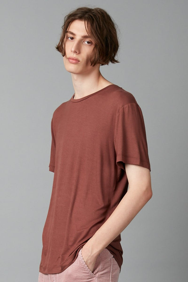 RUST TAIT BAMBOO COTTON T-SHIRT