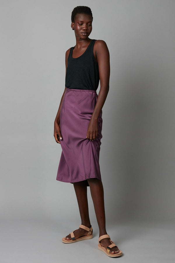 BLACKCURRANT MEISA SKIRT