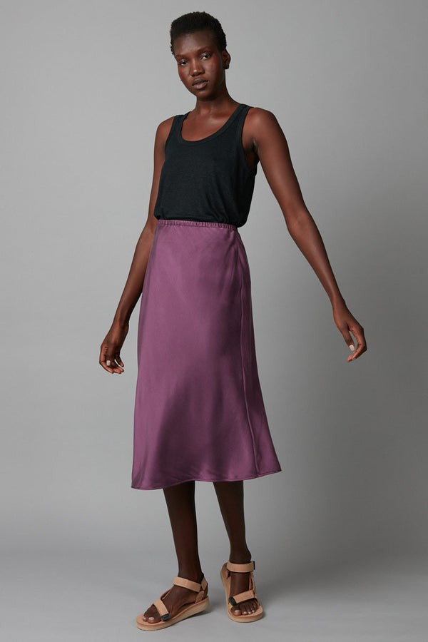 BLACKCURRANT MEISA SKIRT - Nique Clothing