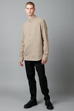 MUSHROOM JEEVA REGULAR LONG SLEEVE SHIRT