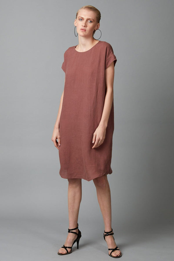 ROSEWOOD HANAE LINEN DRESS