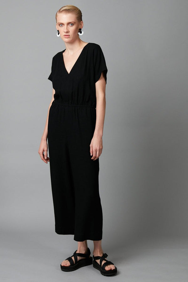 BLACK AYOKO JUMPSUIT - Nique Clothing