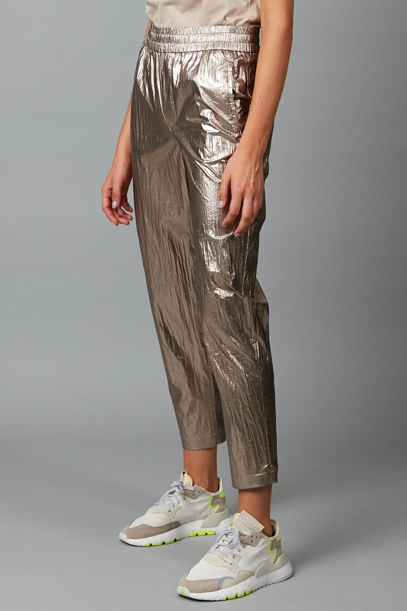 ROSE BRONZE METALLIC HISAKO PANTS
