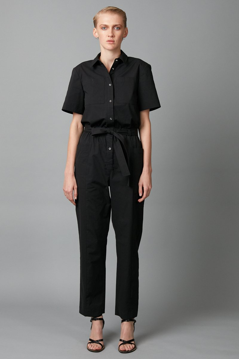 BLACK DACHI JUMPSUIT