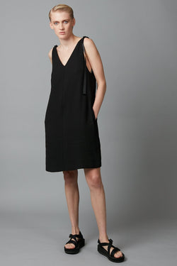 BLACK ERI DRESS
