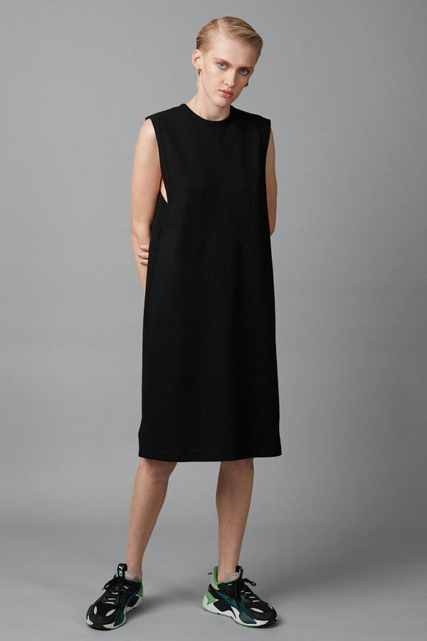 BLACK BOX TANK TEE DRESS