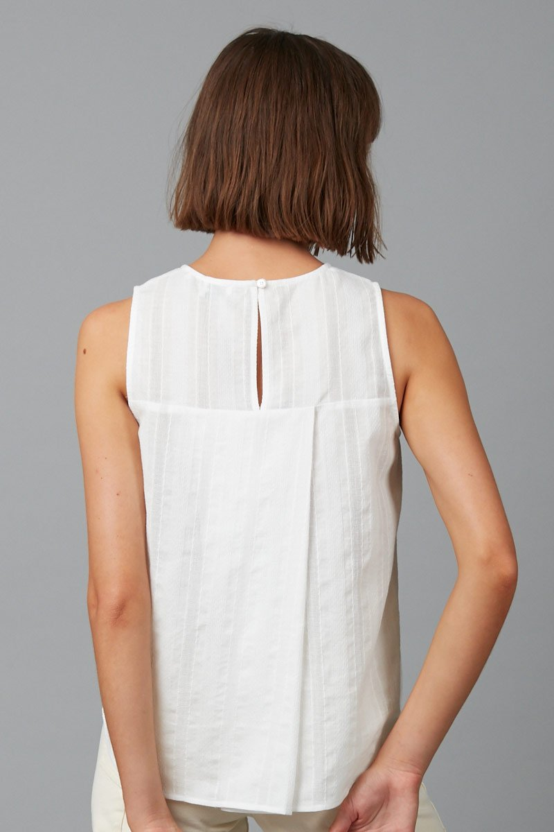 IVORY MIKO COTTON TANK