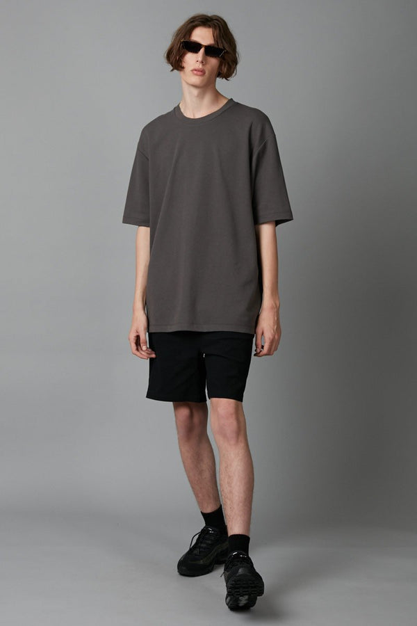 SMOKE KHAKI YOSSHI COTTON TEE - Nique Clothing