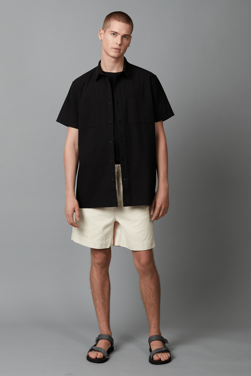 YUSHMO REGULAR SHORT SLEEVE COTTON SHIRT - Nique Clothing