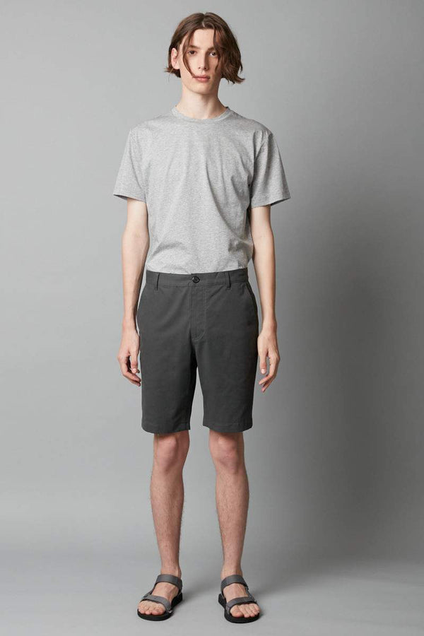DEEP KHAKI MIEKO COTTON SHORT - Nique Clothing