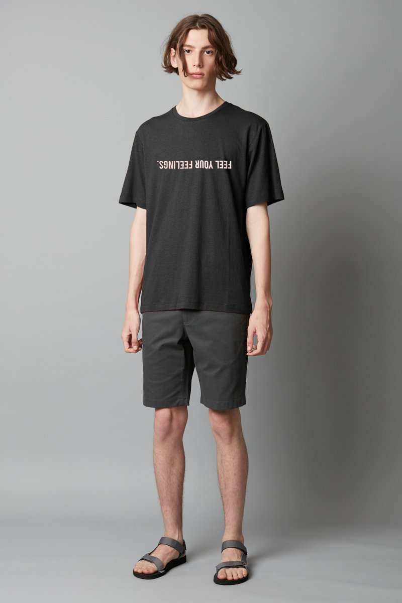 LIMITED EDITION | MIKEY TING | FEEL YOUR FEELINGS BLACK TAIT TEE - Nique Clothing