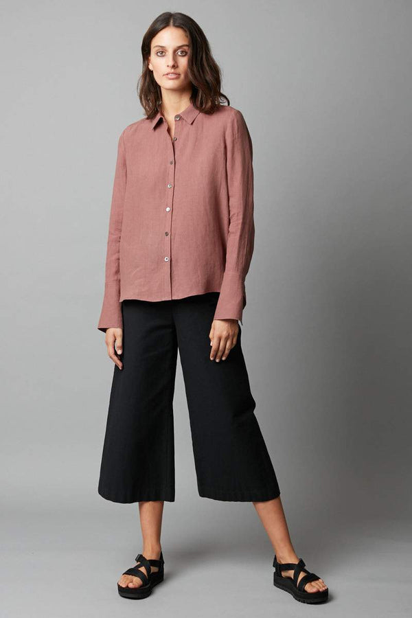 ROSEWOOD ATSUKI LINEN SHIRT - Nique Clothing