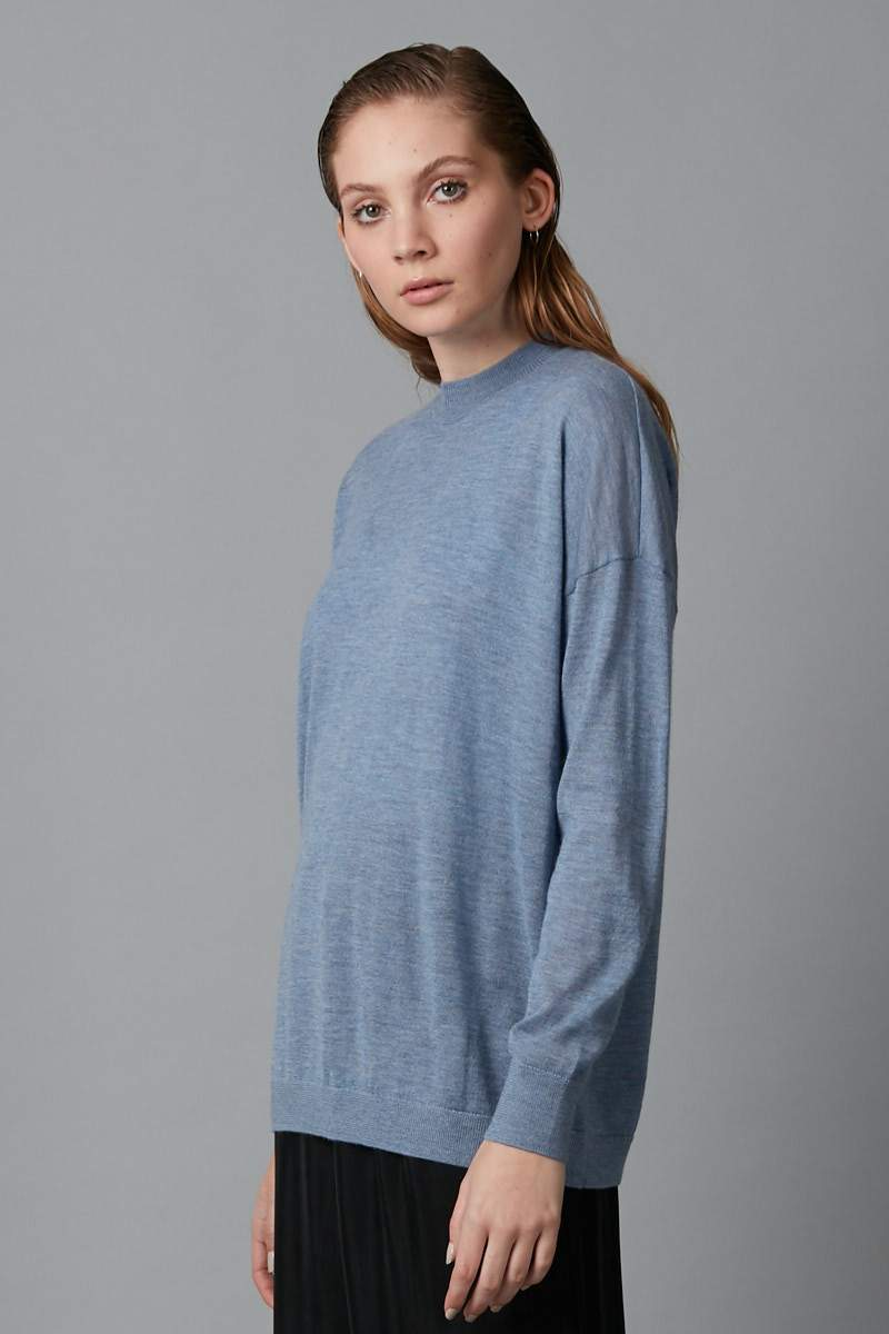 BLUE MICHI KNIT