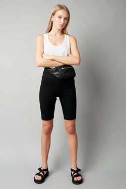 BLACK FOUNDATION BICYCLE SHORTS