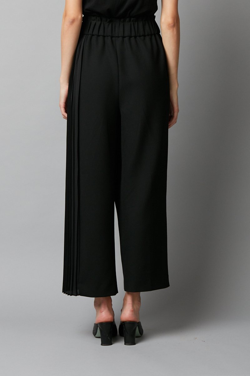BLACK ORIMAE PANTS