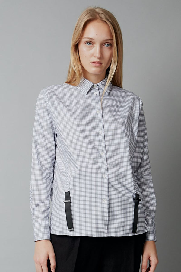 CHECK COTTON KEIRO SHIRT - Nique Clothing