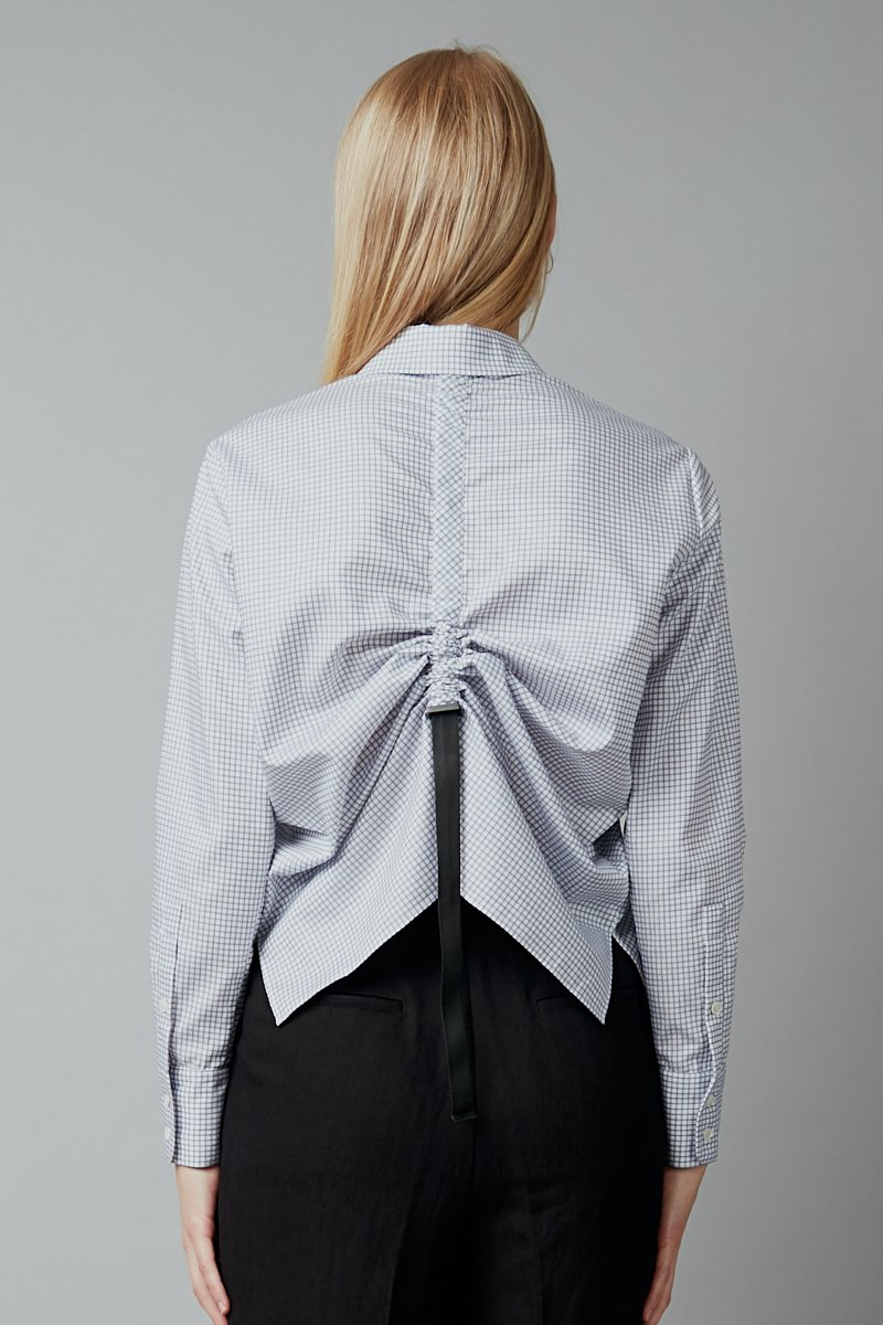 CHECK COTTON KEIRO SHIRT