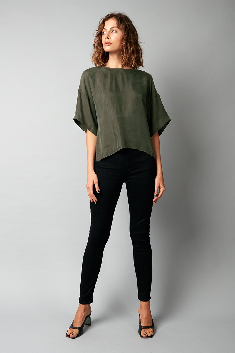 DEEP FOREST HELIUM TOP - Nique Clothing