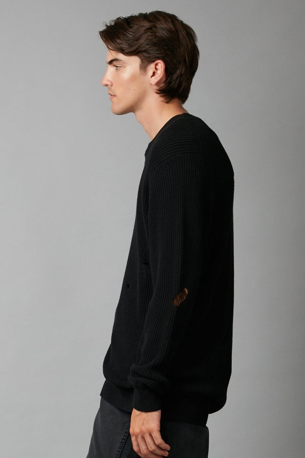 FUMI UNISEX DISTRESSED KNIT - Nique Clothing