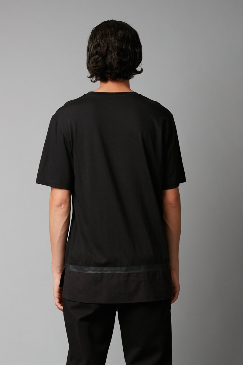 BLACK MUIRA COTTON TEE - Nique Clothing