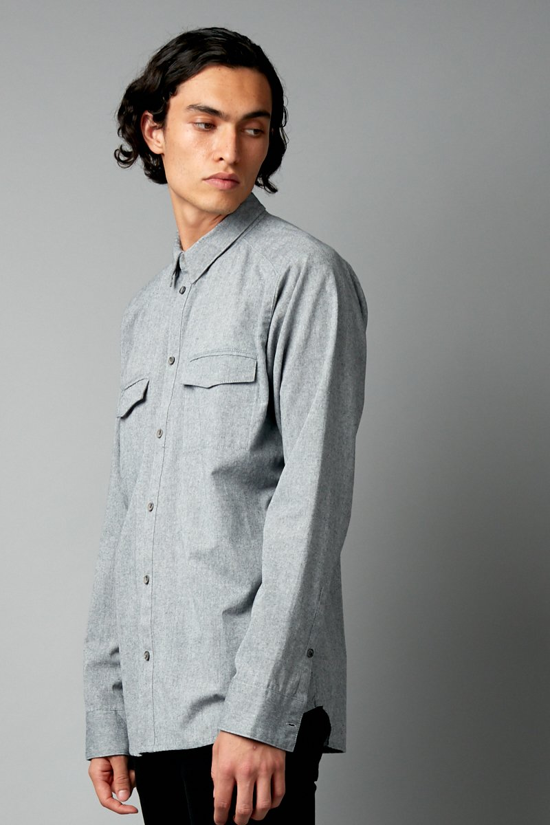 HARUMA REGULAR LONG SLEEVE SHIRT - Nique Clothing
