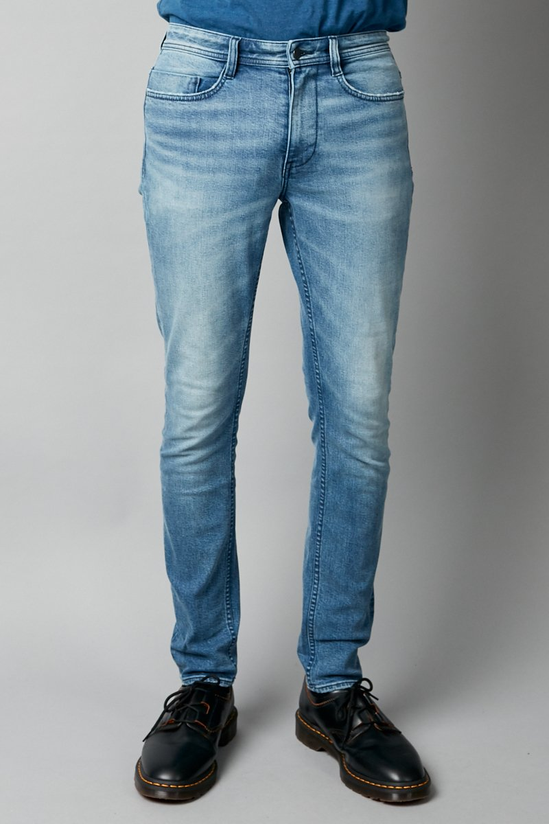 PALE WASH BERLINER DENIM JEAN
