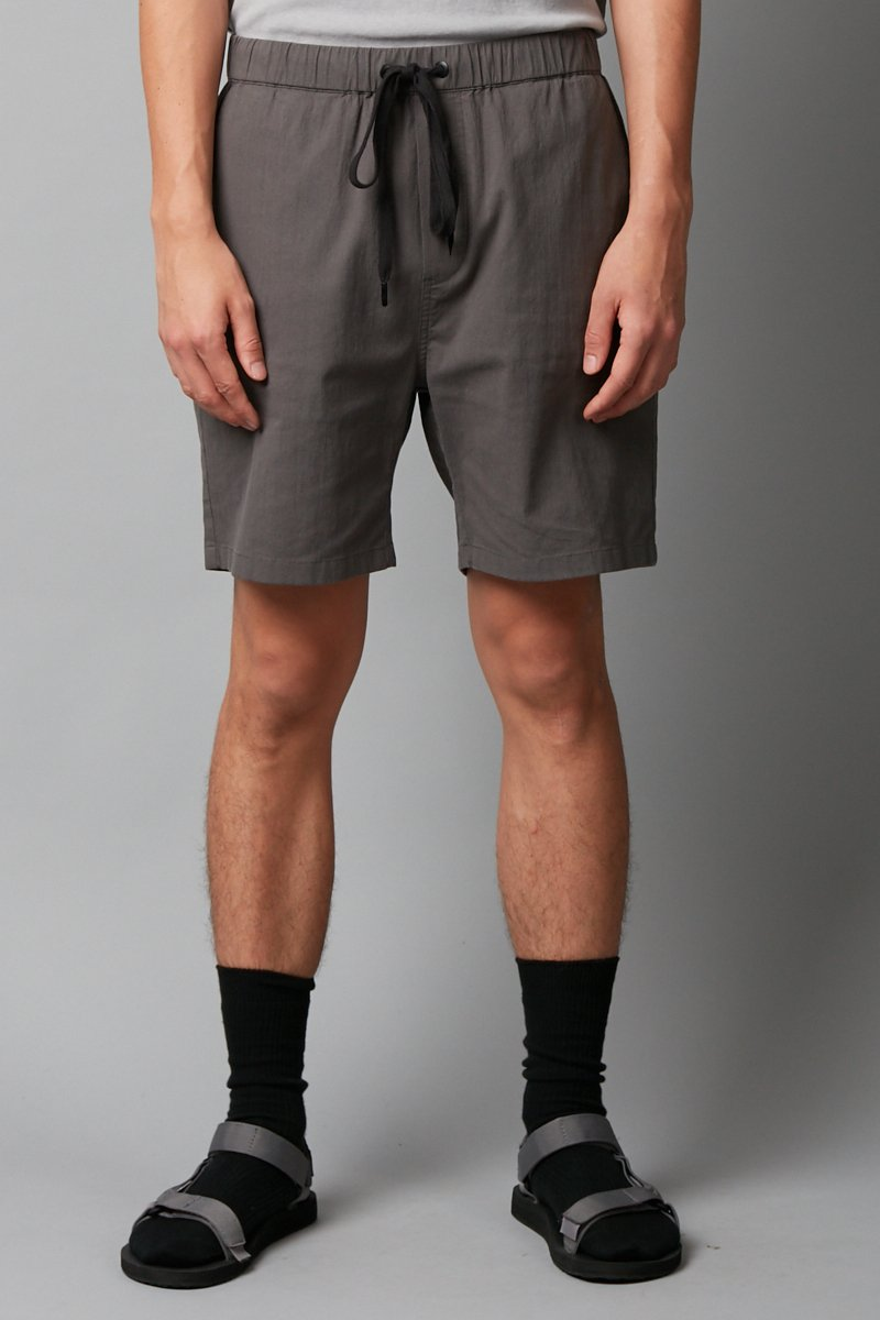 SLATE ISAMU COTTON SHORT - Nique Clothing