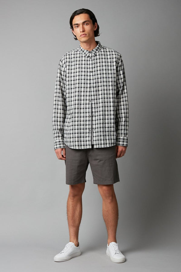 KOIKE CHECK COTTON SHIRT - Nique Clothing