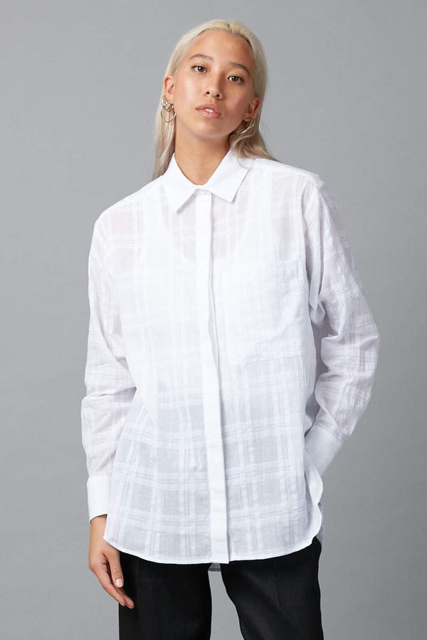 WHITE FUMI SHIRT