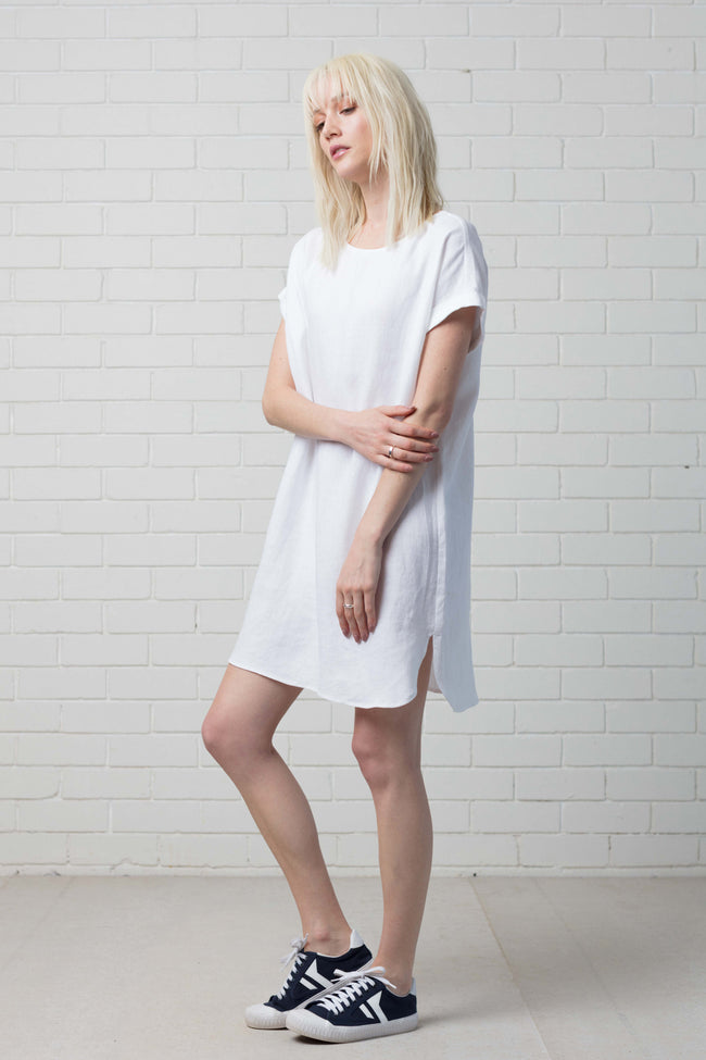 HANAE DRESS - WHITE