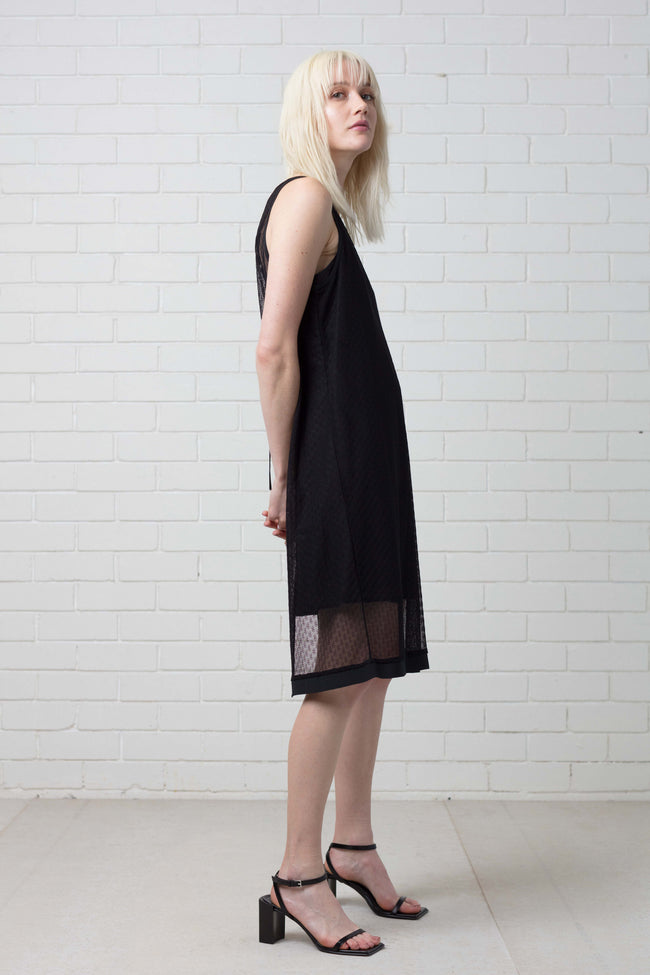KAMMI OPEN TANK DRESS