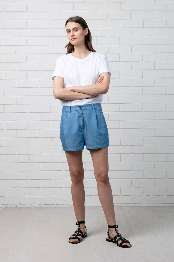 Blue Denim Itsumi Short