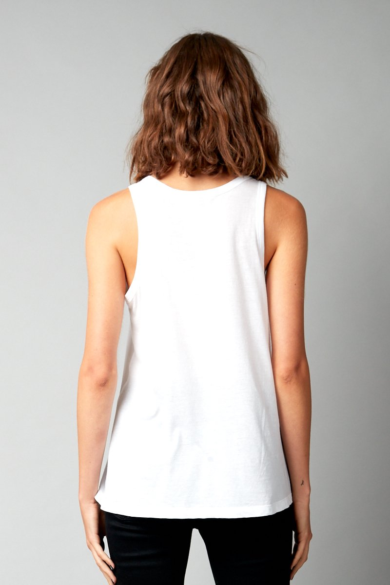 OFF WHITE COTTON KAZOKO TANK