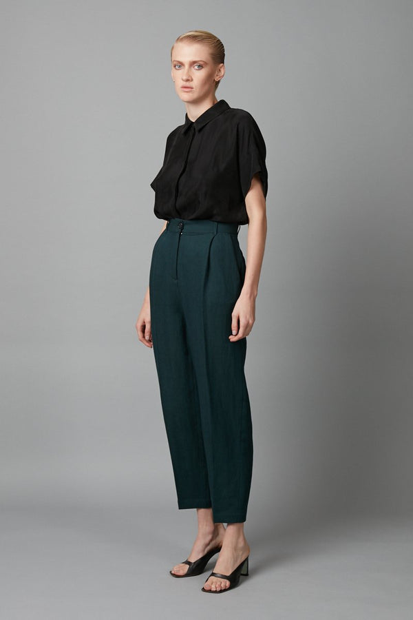 GREEN FLOAT PANT