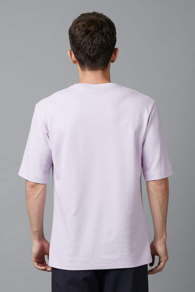 LILAC UNISEX ASAHI COTTON TSHIRT - Nique Clothing