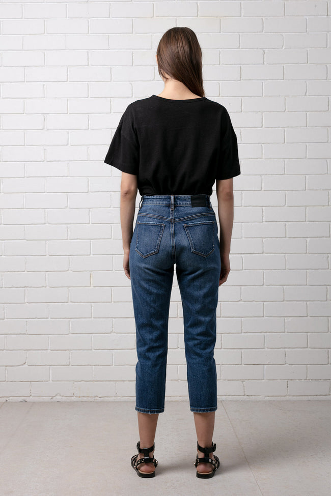 UMEKO DENIM JEAN - MID WORN