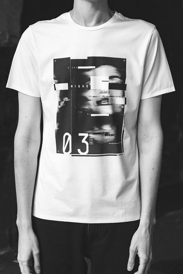 UNISEX SLIM MAKERS PRINT TEE - LIMITED EDITION - Nique Clothing