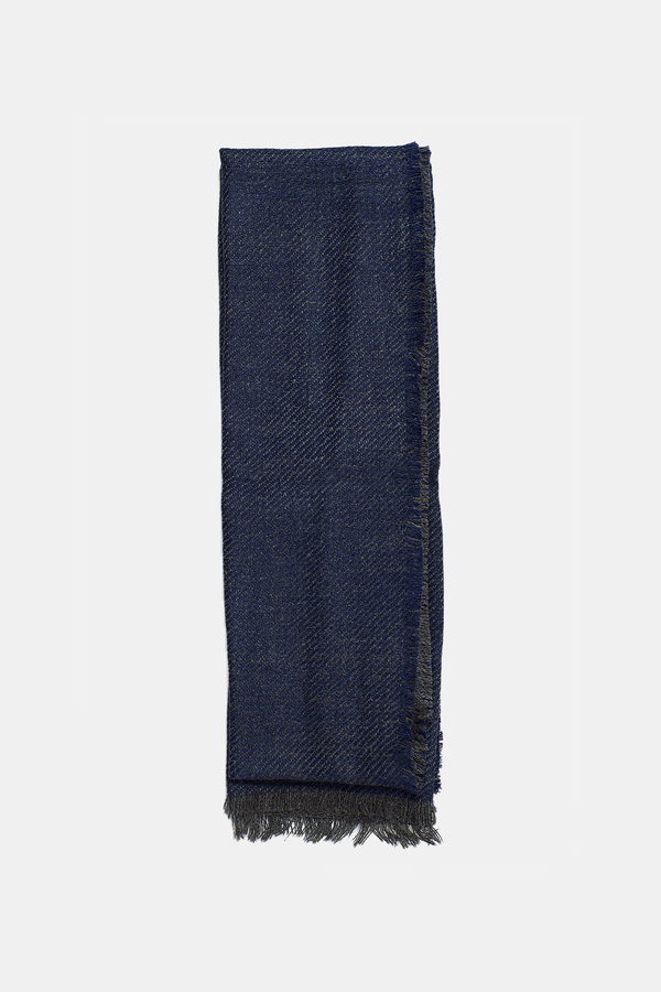 DENIM AURORA REVERSIBLE SCARF