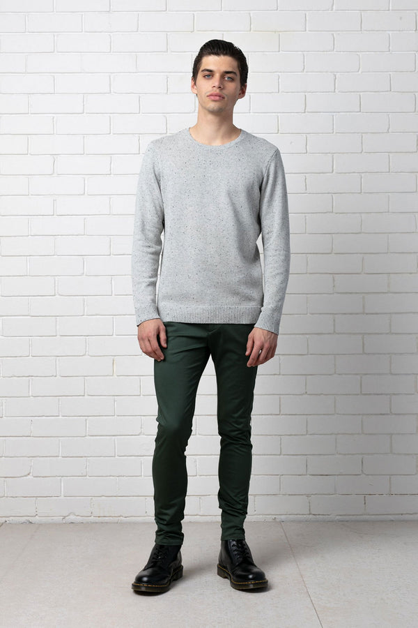 GREY AFFINITY COTTON KNIT