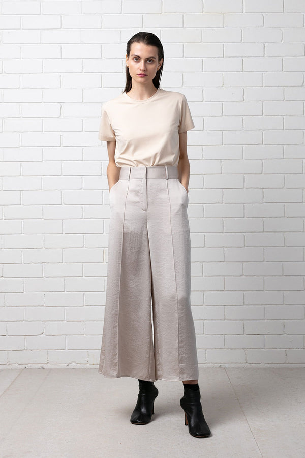 BEIGE SUPER PANT - Nique Clothing