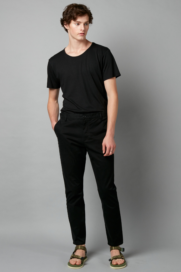 Black Mieko Unisex Cotton Pant