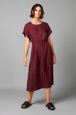 Damson Wai Cupro Viscose Dress